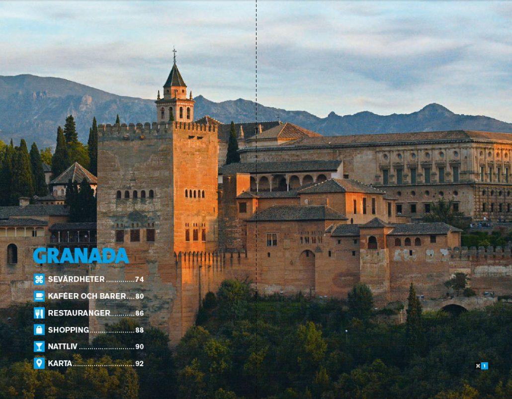 Karta Spanien Granada.Mitt Andalusien Karavan Reseguider