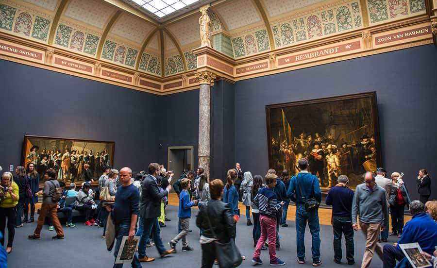 Pärlan bland Amsterdams museum: Rijksmuseum