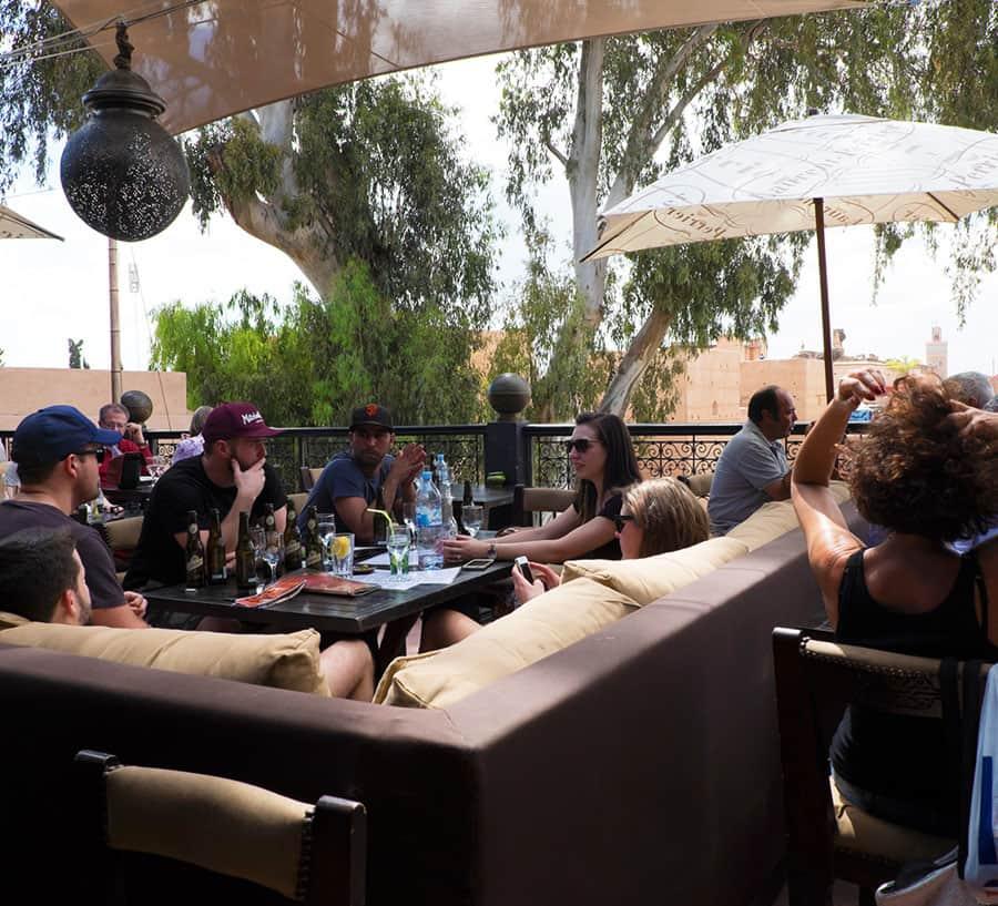 Besök Kosybar i Marrakech
