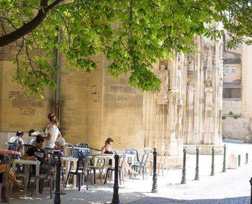 Aix-en-Provence - Vid katedralen