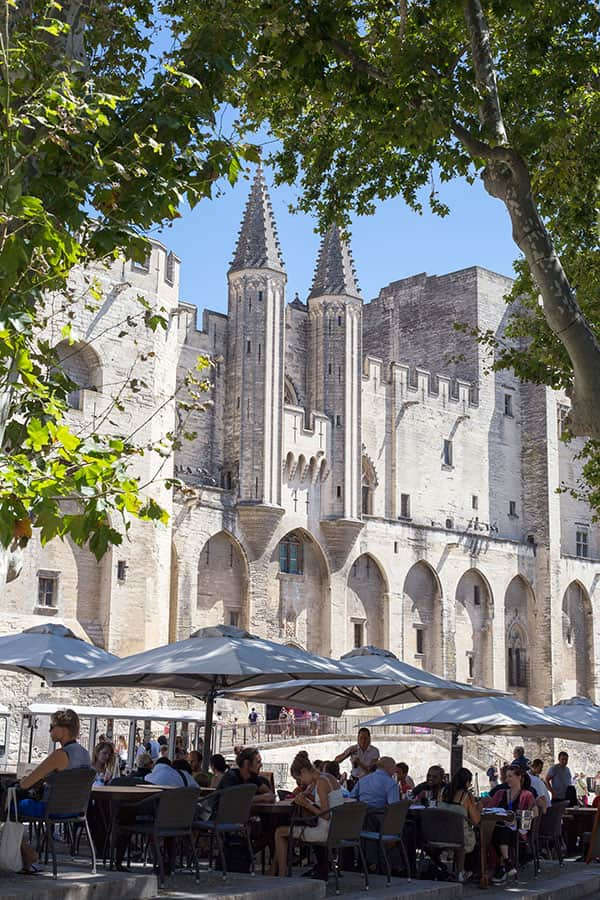 Palais de Papes – en av de mäktigaste upplevelserna i