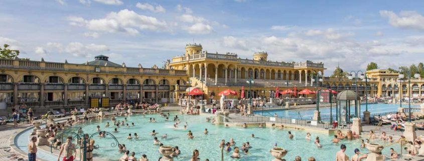 Szechenyi-badet i Budapest.