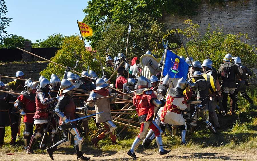 Medeltidsveckan på Gotland.