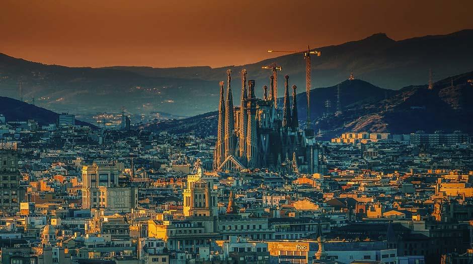 Sevärdheter i Barcelona - Sagrada Familia