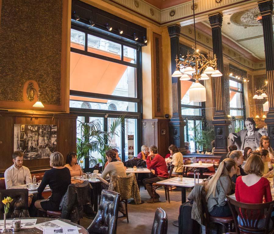 Budapest cafe - Kavehaz Central
