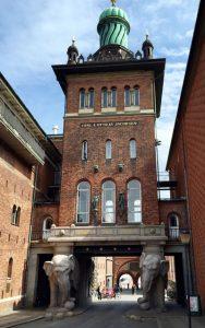 Elefantporten till Ny Carlsberg Bryggeri