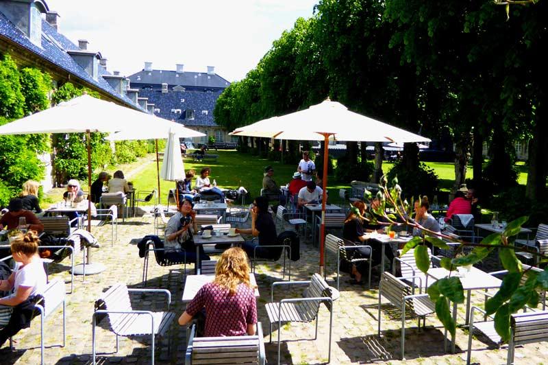Café Klints uteservering