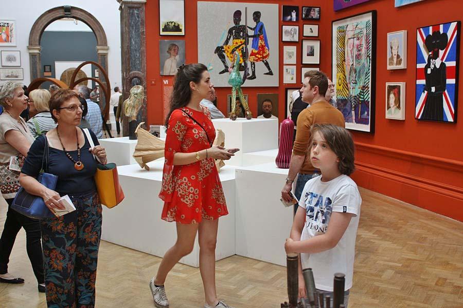Londons sevärdheter – Royal Academy of Arts