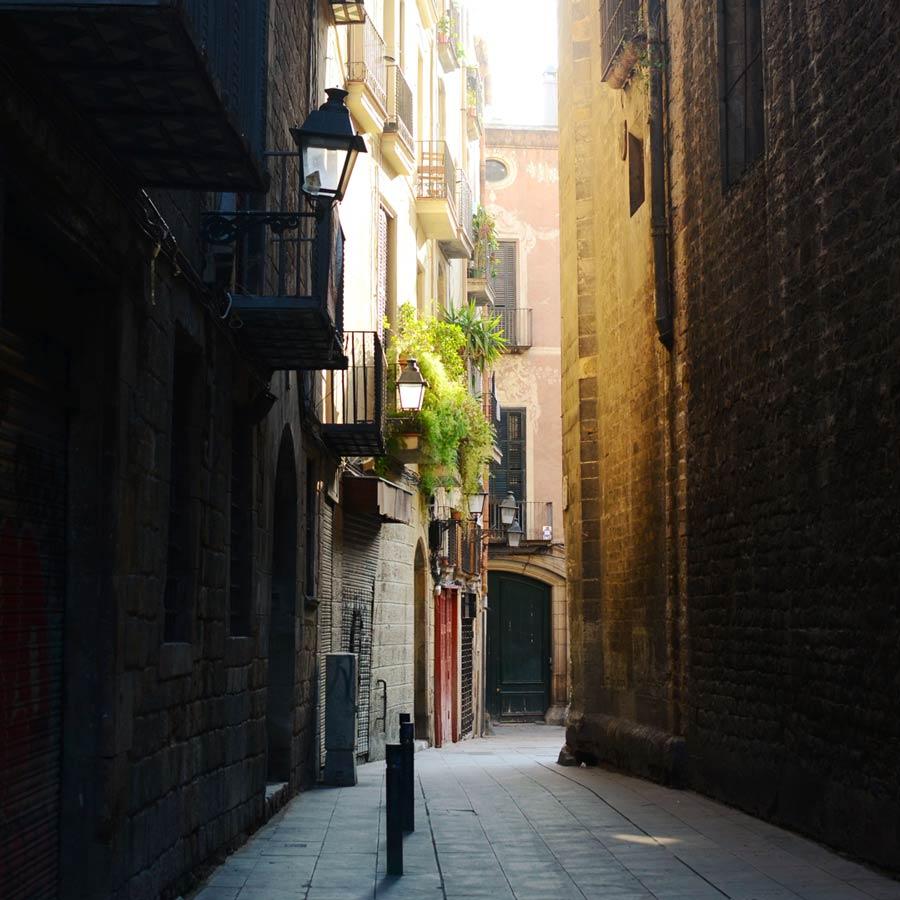 Sevärdheter i Barcelona - Barri Gòtic