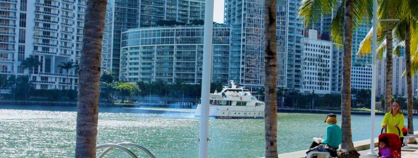 Downtown Miami - Bayfront park
