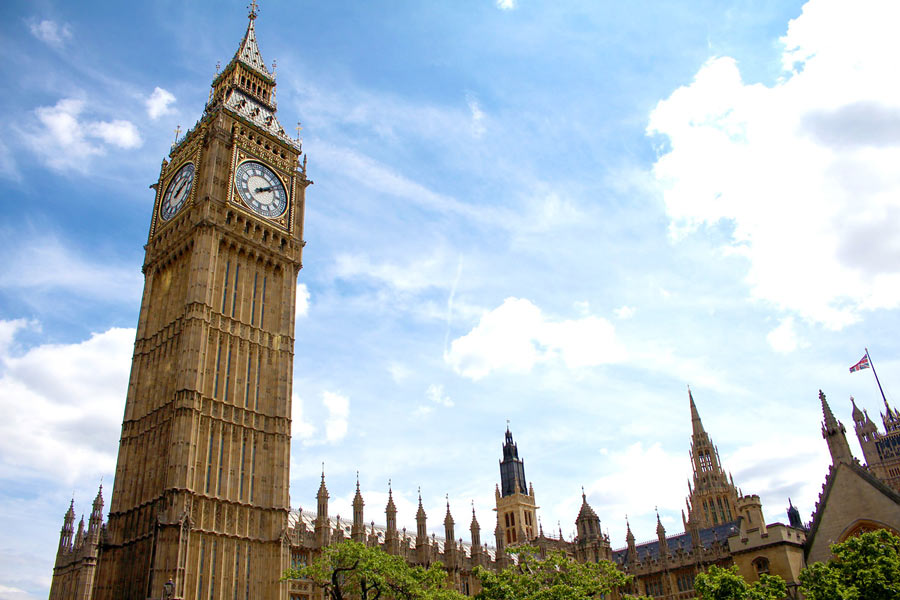 Londons sevärdheter - Houses of Parliament