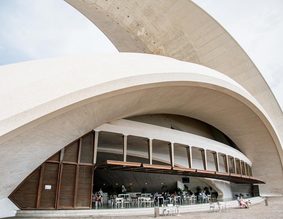 Sevärdheter på Teneriffa - Auditorio de Tenerife
