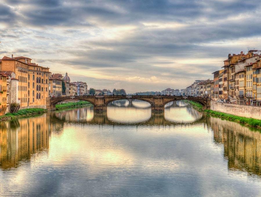 Florens flod Arno