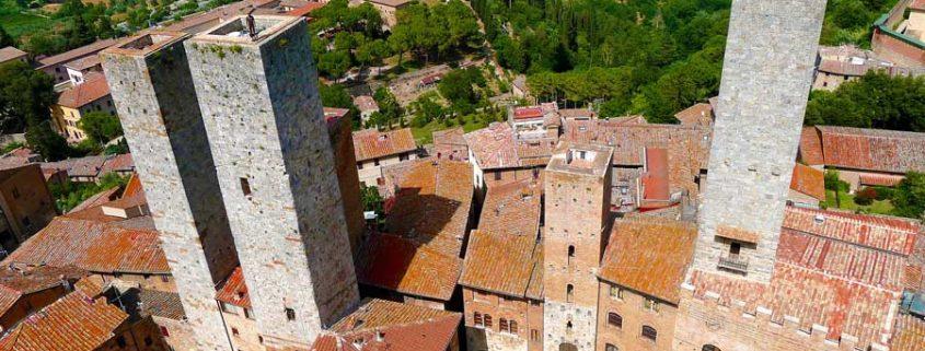 Stad i Toscana - San Gimignano