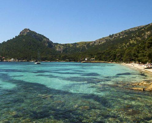Badvikar och stränder på Mallorca