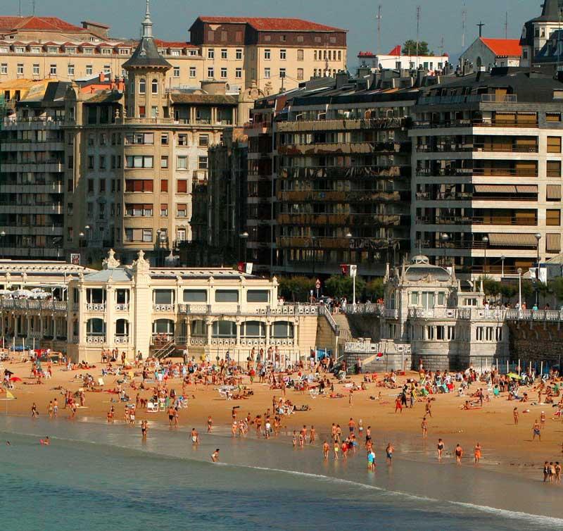 Baskiens städer - San Sebastián