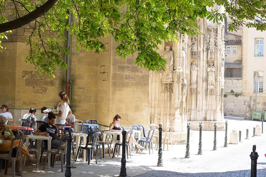 Marknad i Aix-en-Provence