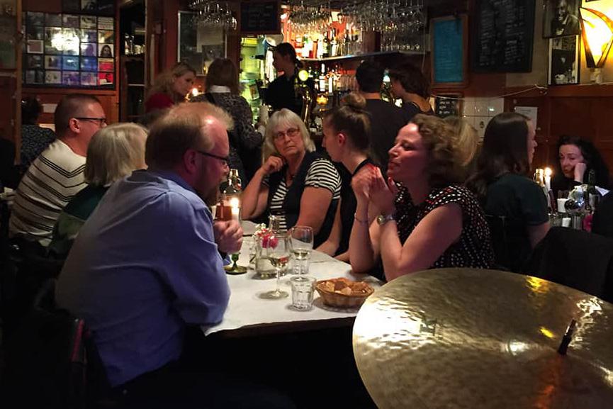 Jazzklubb i Stockholm