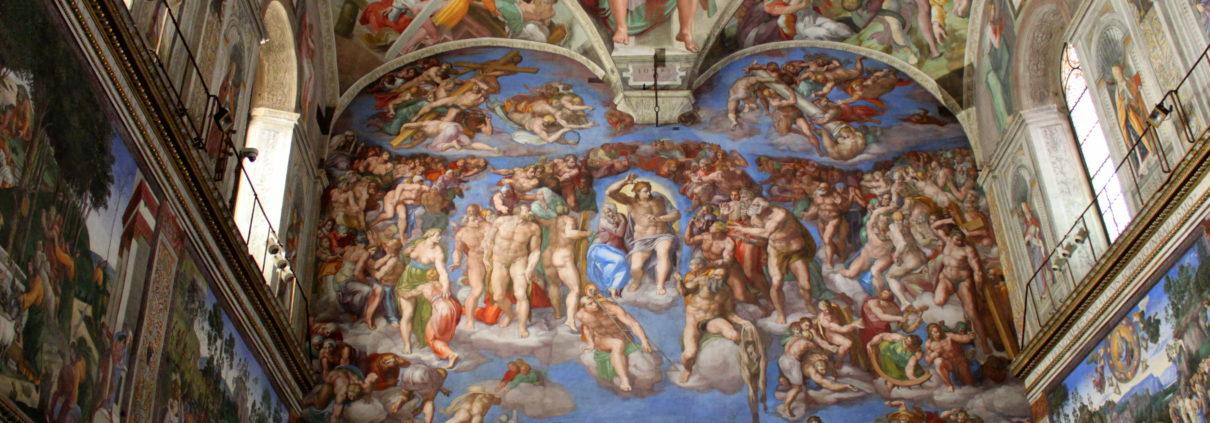 Sixtinska kapellet i Rom
