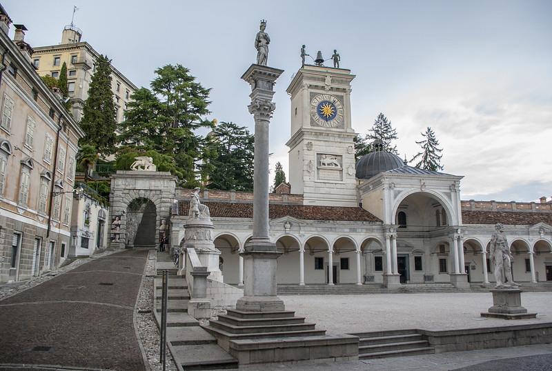 Piazza della Libertà Udine.