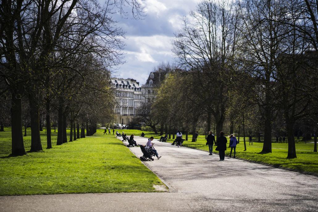 Hyde Park och Kensington Gardens