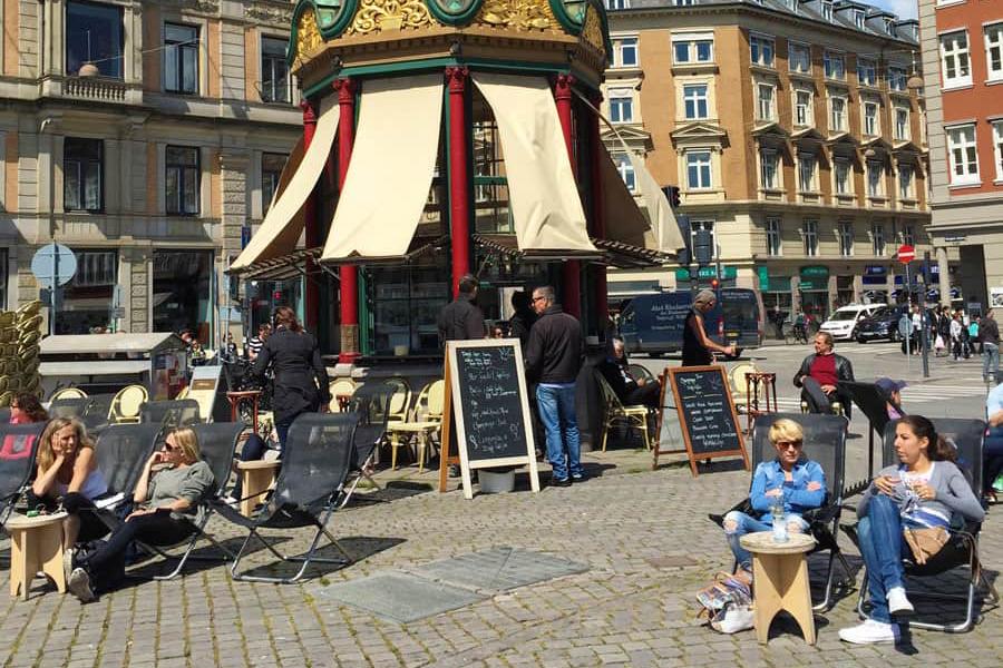 Shopping i Köpenhamn