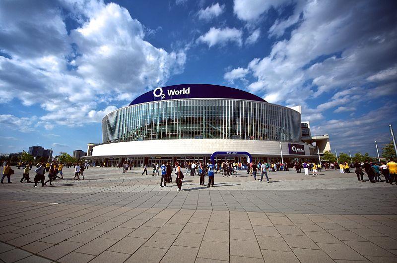 O2 Arena i Berlin