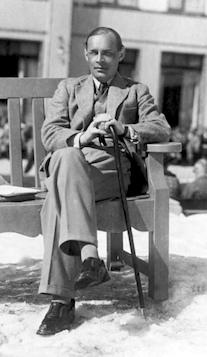 Erich Maria Remarque, 1929, i Davos.