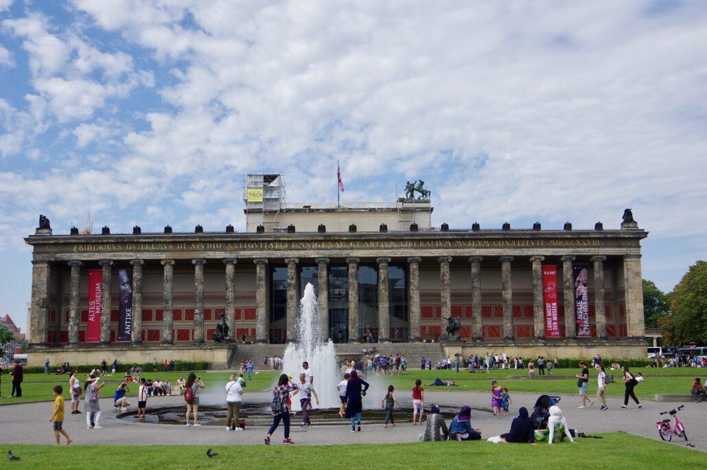 Altes Museum Berlin. Foto: David Merrett